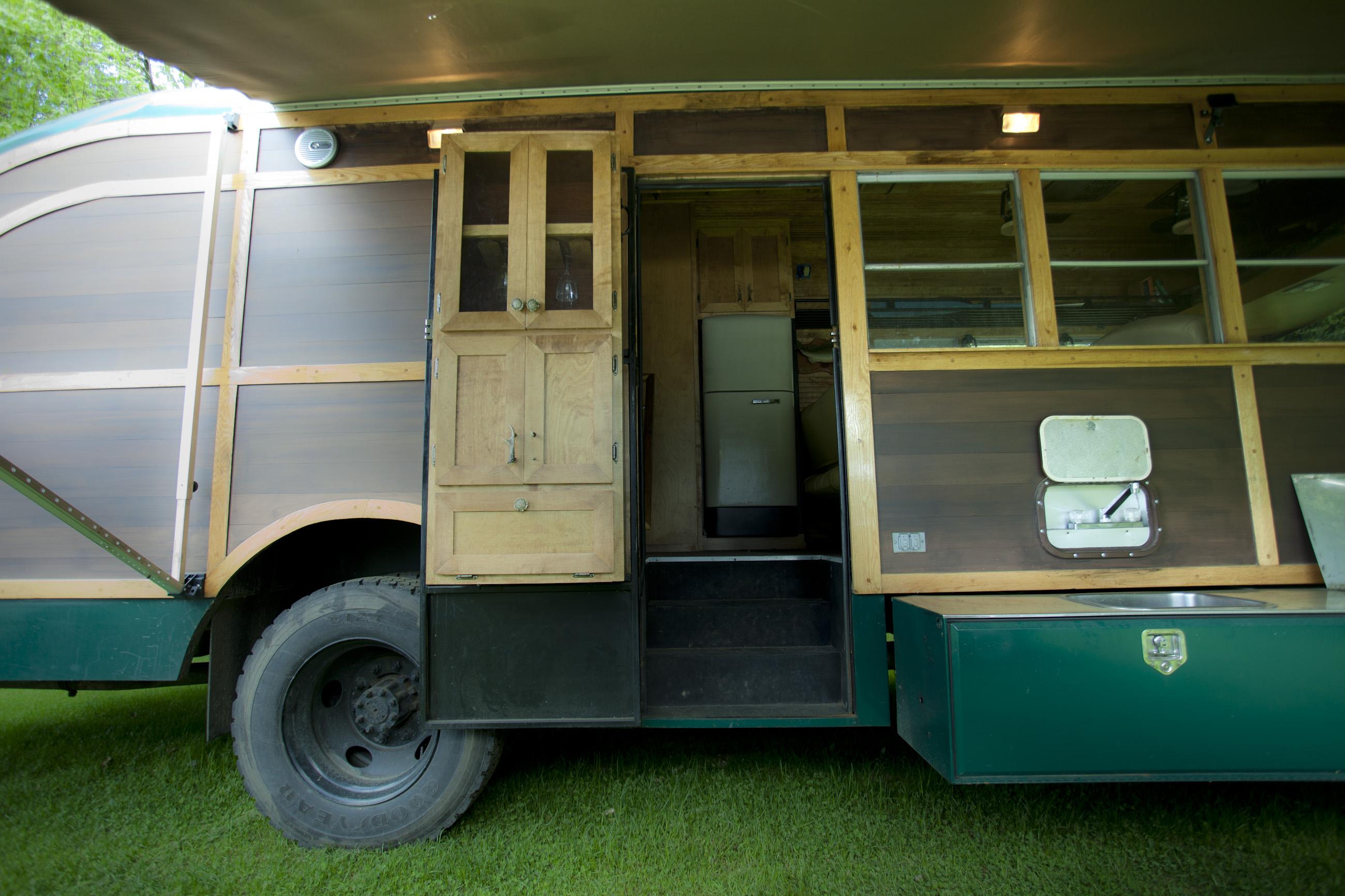 Converted School Bus Camper – David Dillon LLC